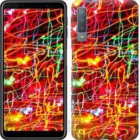 Чехол Endorphone на Samsung Galaxy A7 2018 A750F Неоновые узоры 3604c-1582-18675 (3604-1582)