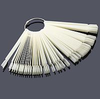Типсы веер пластиковые на кольце