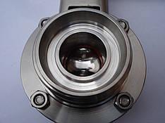 Нержавеющий кран дисковый DN 80, фото 2