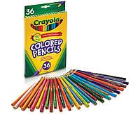 Цветные карандаши CRAYOLA COLORMAX, 36 шт