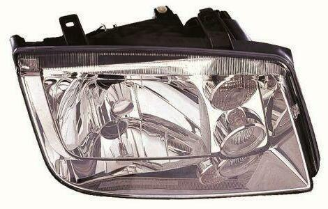 Фара правая VW BORA -05 механическая/электтрическая с противотуманными фарами (DEPO). 441-1138R-LDEMF