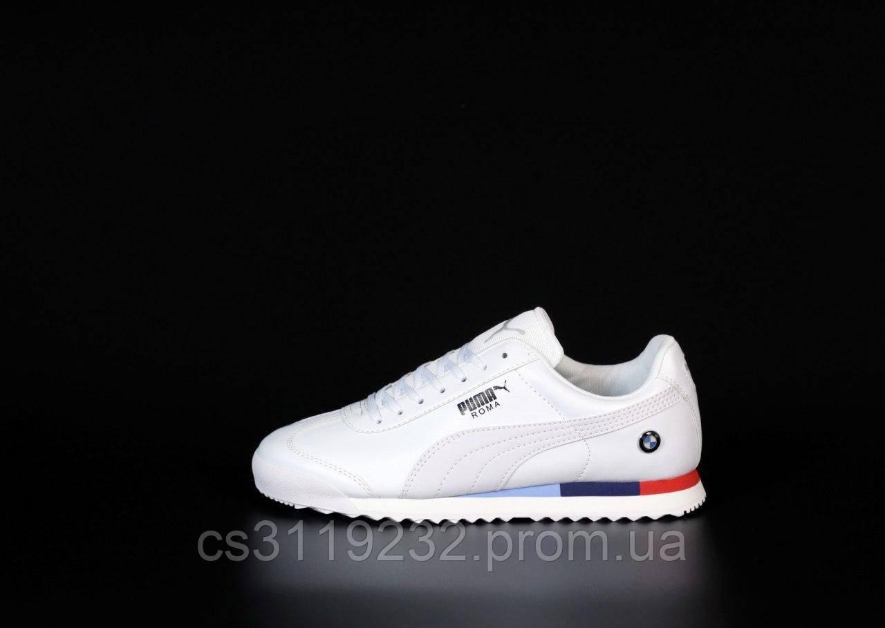 Чоловічі кросівки Puma Roma BMW (білі)