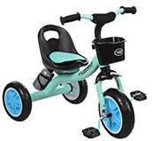 """Детский велосипед """"Гномик"""" трехколесный Turbotrike (голубой) арт. 3197M1"""