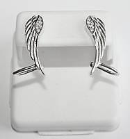 Каффы из серебра Крылья, фото 1