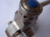 Дисковый клапан нержавеющий сварка/резьба DN 65, фото 3