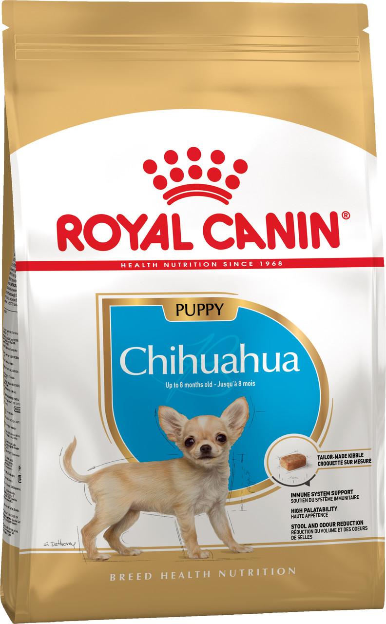 Сухой корм Royal Canin Chihuahua Puppy для щенков породы Чихуахуа 500 г