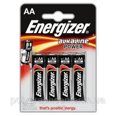 Батарейка ENERGIZER AA Alkaline Power 4 шт