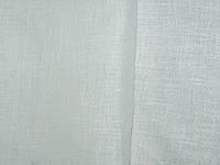 Льняная легкая ткань белого цвета