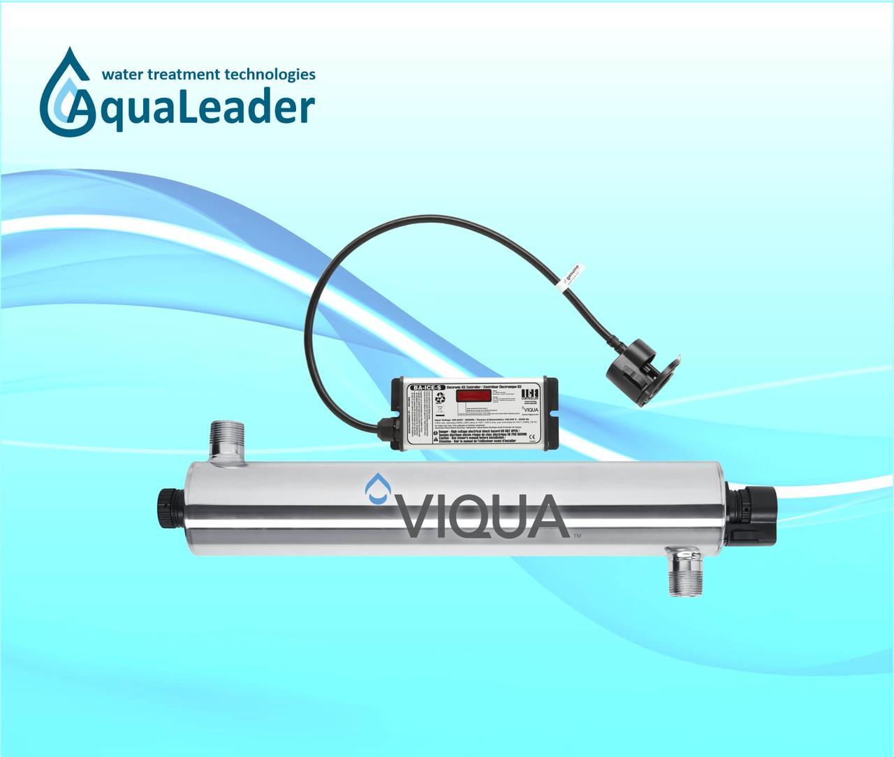 Система ультрафиолетового обеззараживания VIQUA VH410/2