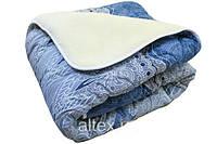 Одеяло полуторное меховое, с плотность 200 г/м.кв, ткань бязь.(арт.МБ5)