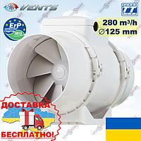ВЕНТС ТТ 125 круглый канальный вентилятор (VENTS TT 125), фото 1