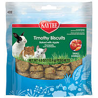 Лакомство Kaytee Timothy Biscuits Apples (для грызунов), 114гр