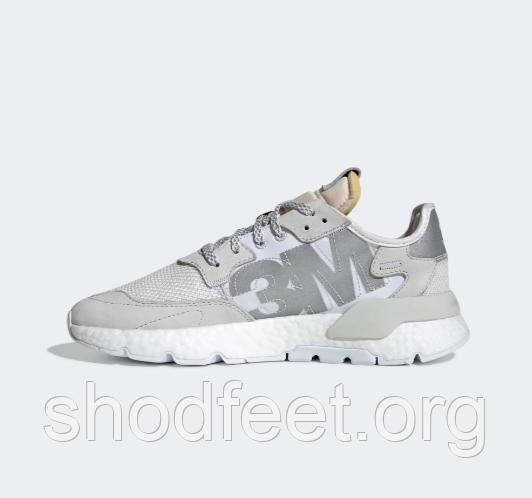 Чоловічі кросівки Adidas Nite Jogger 3M Crayon White