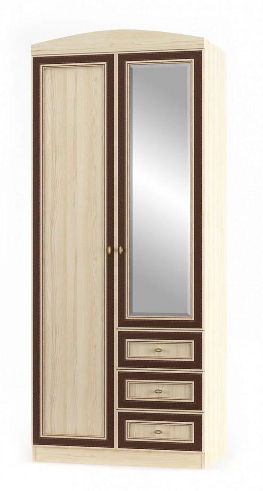 Шкаф распашной Дисней 2Д+3Ш дуб светлый