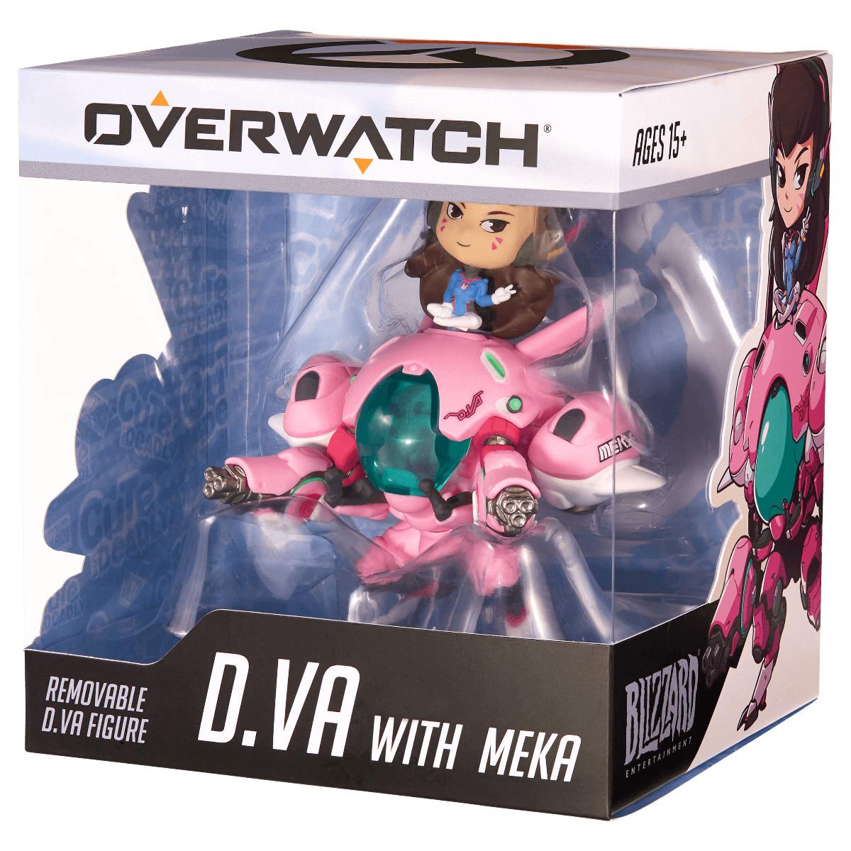 Коллекционная фигурка Cute But Deadly D.Va and MEKA Figure
