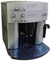 Кофемашина Delonghi ESAM 3000 В, серебристая, б/у