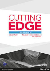 Cutting Edge Third Edition Elementary Teacher's Book with Resource Disc