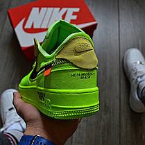 Мужские кроссовки в стиле Off-White x Nike Air Force 1 Volt, фото 3