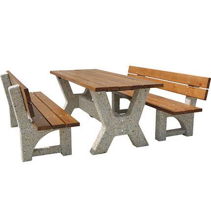 """Садовый стол со скамейками «Гарден - Верона"""", фото 2"""