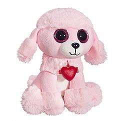 Мягкая игрушка Розовый Пудель Глазастик 22 см Fancy GPYR0/S