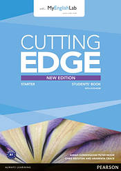 Cutting Edge Third Edition Starter Students' Book with DVD-ROM and MyLab Access