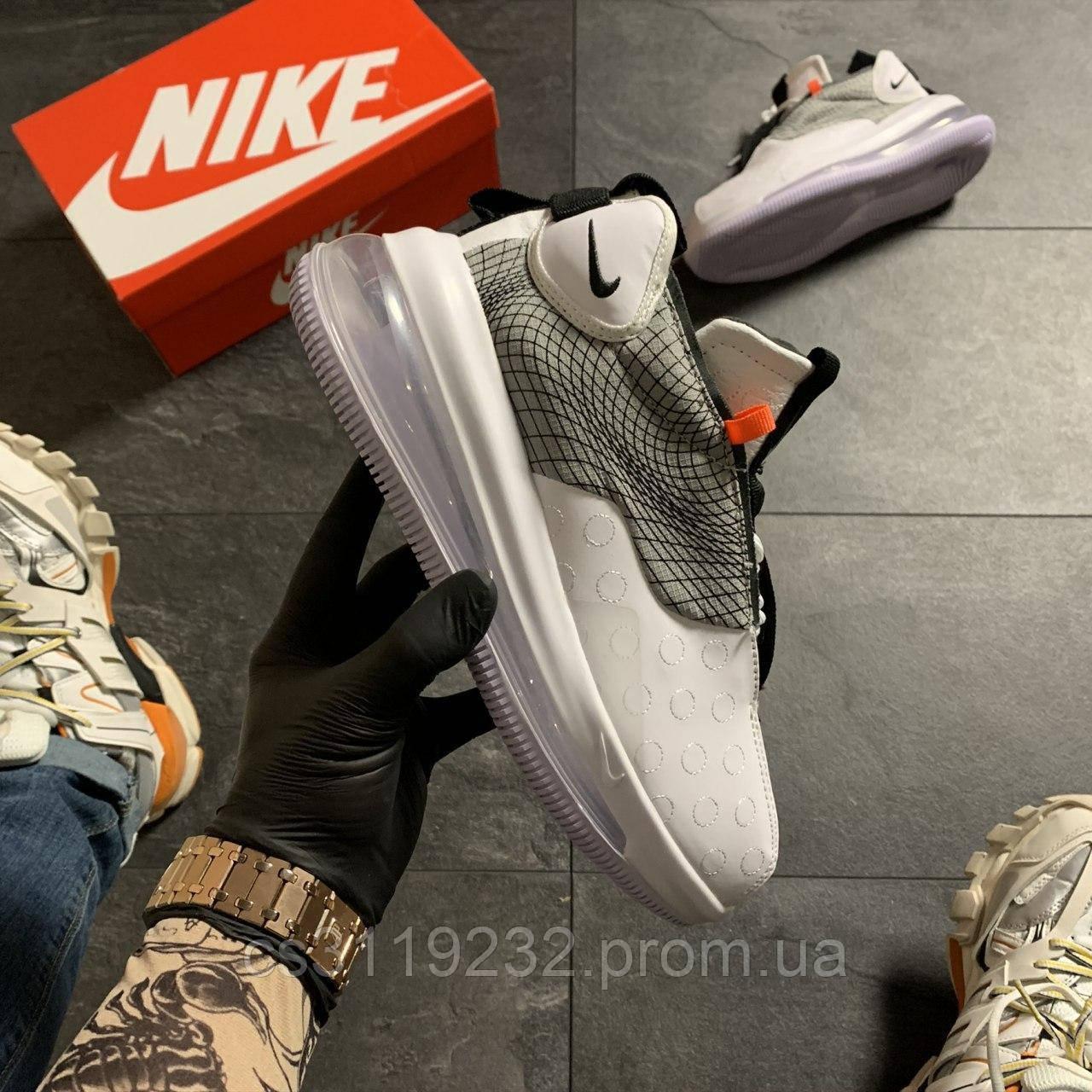 Мужские кроссовки Nike Air Max 720 Sneakerboots Gray (белые)