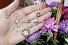 Серебряное ожерелье Версаче, фото 6