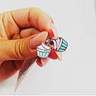 Серьги для детей Кексики, фото 2