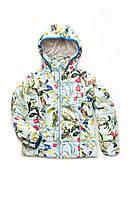 Куртка-жилет демисезонная для девочки 5-8 лет