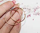 Золотые серьги-кольца Мелани, фото 2
