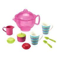 Игровой набор Ecoiffier с посудкой Чаепитие (000946)
