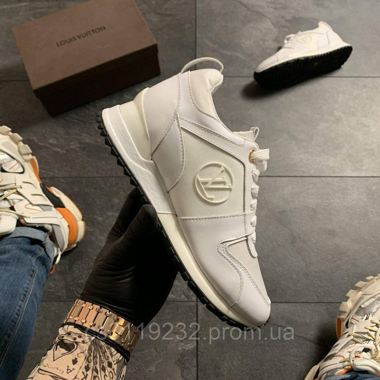 Женские кроссовки Louis Vuitton White (белые)