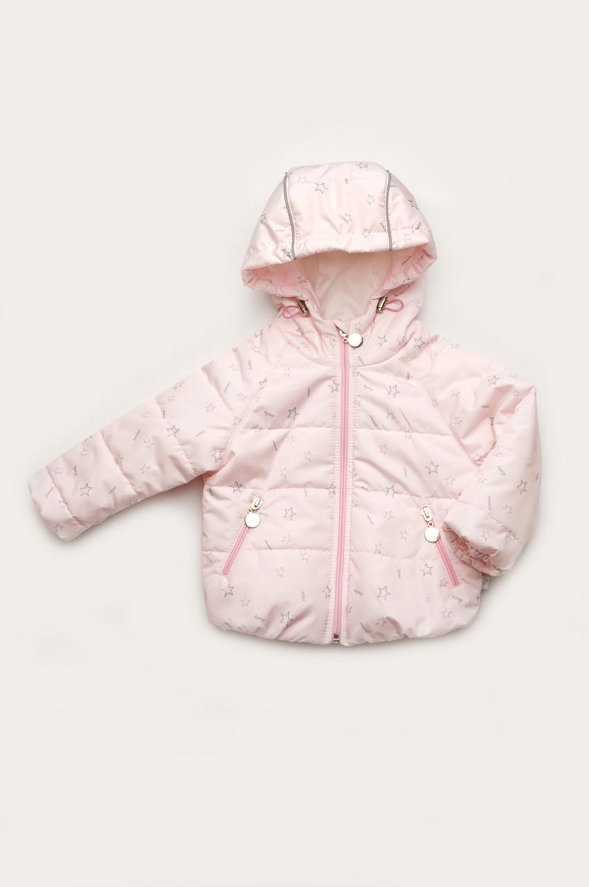 Куртка для малышей демисезонная розовая 68
