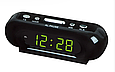 Настільні годинники від мережі VST-716 з червоною, зеленою підсвіткою DV, фото 3