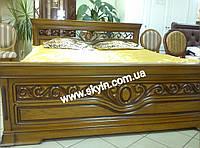 Дубовая кровать Эдельвейс