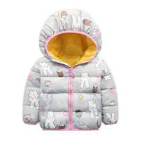 Куртка для девочки от 2 до 7 лет