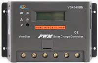Контроллер, ШИМ 45А 12/24/36/48В с дисплеем, (VS4548BN) EPSolar, фото 1