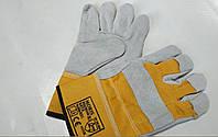 Перчатки рабочие 4233X MORIS OR кожанные
