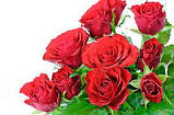 """Мыло ручной работы """"Букет красных роз с лепестками""""., фото 4"""