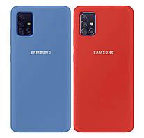 Чехол-накладка Original Silicone case Full Protective на Samsung Galaxy A51 SM-A515F #2