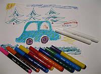 Волшебные фломастеры Milan 8 цветов + 2 MAXI Magic, фото 1
