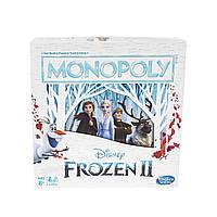 Monopoly монополия Frozen настольная игра холодное сердце