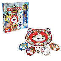 Настольная игра Монополия Йо кай вотч Monopoly Junior Yo-kai Watch  англ.язык