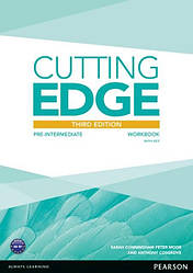 Cutting Edge Third Edition Pre-Intermediate Workbook and Online Audio with Key