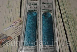 Мулине Madeira Metallic №4, цвет - 4065