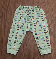 Штаны для новорожденного(байка) р.74-86см