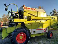 Комбайн зернозбиральний Claas dominator 58