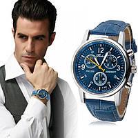 Мужские Наручные часы Tissot style, geneva Синий, фото 1