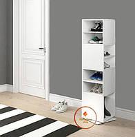 Полка для книг, стеллаж для дома поворотный ДСП. P0022