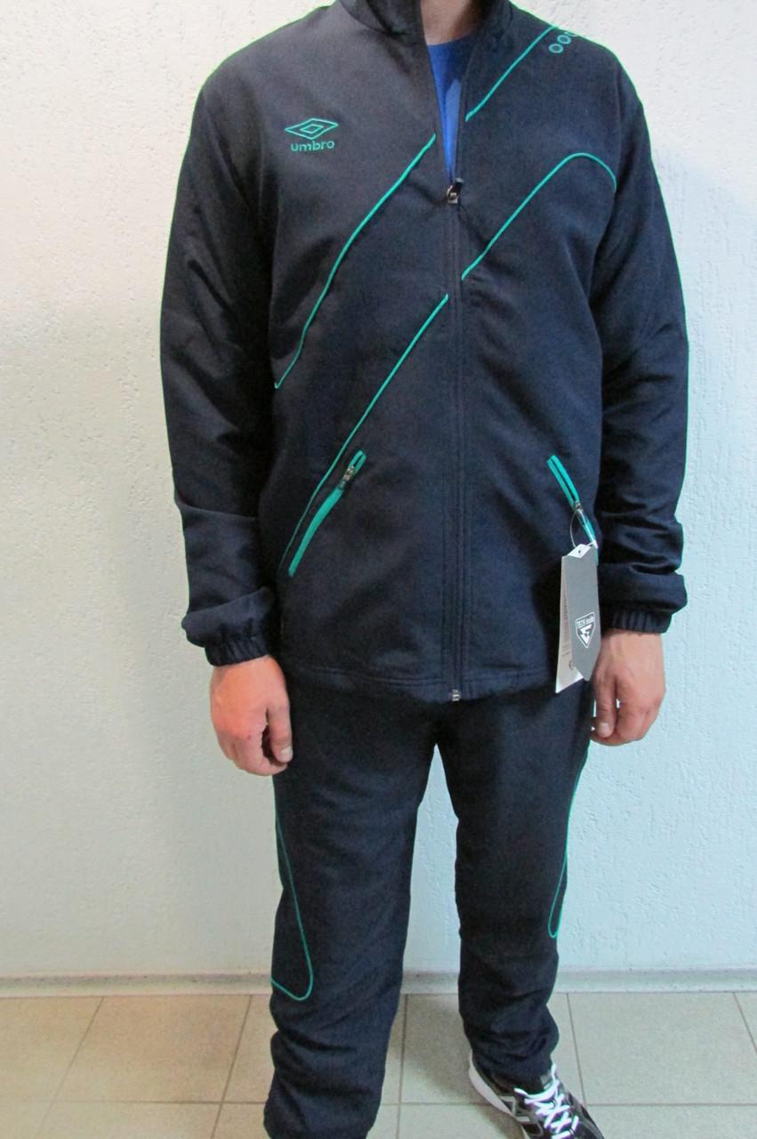 87e8ff7a Мужской спортивный костюм Umbro Prodigy Woven svit 461214 темно синий код  308в - Интернет-магазин